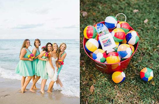Декор летней свадьбы у моря