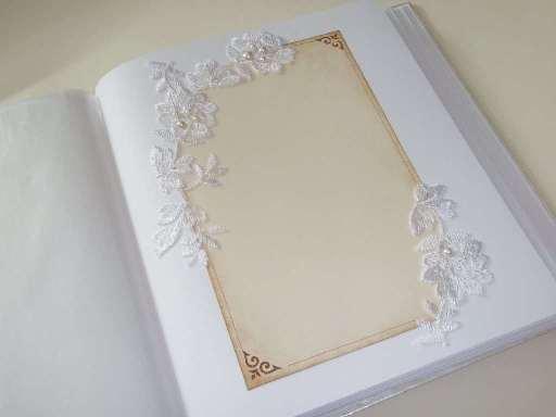 свадебный альбом под наклейку