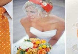 Оранжевая свадьба: декор праздника в ярких тонах
