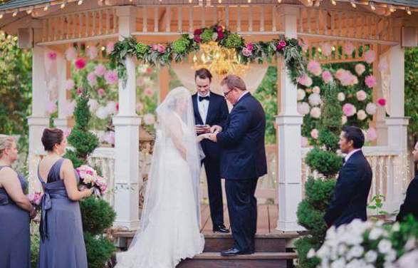 регистрация брака на природе