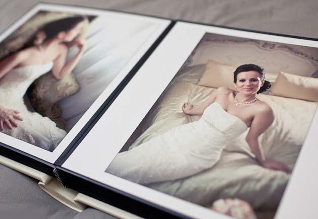 свадебный альбом с фото невесты