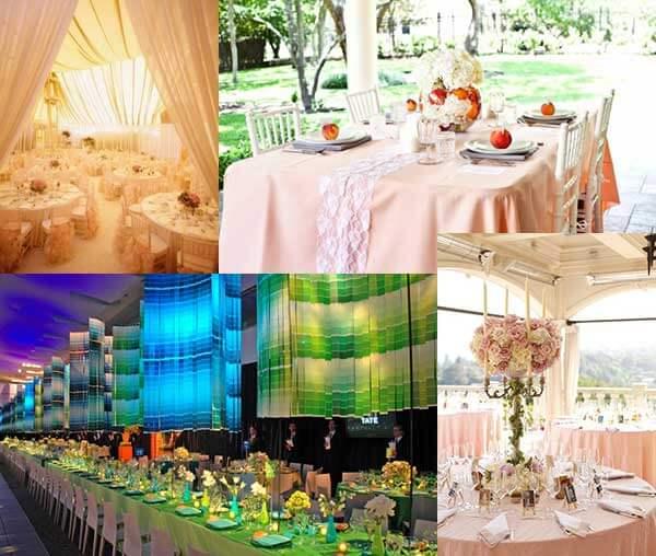 Свадебные банкетные залы: где справить свадьбу