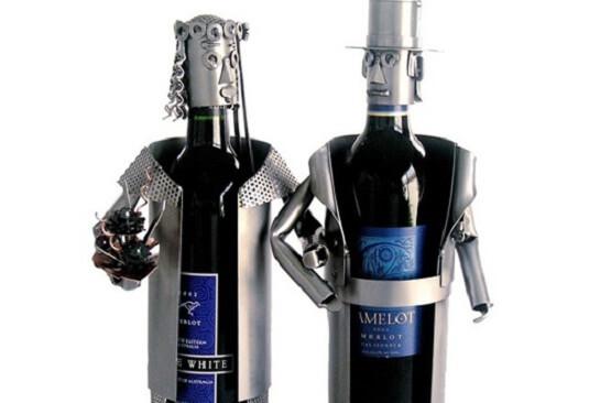 бутылки-супруги