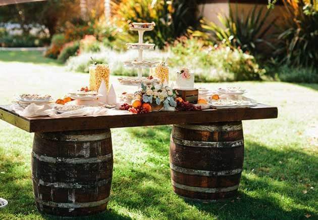 Как оформить свадьбу в стиле рустик