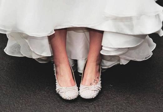 балетки на невесте