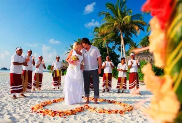заключение брака на Мальдивах