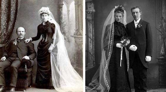 Винтажные старинные свадебные платья