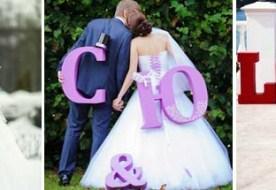 Объемные буквы из пенопласта: своими руками декор торжества!