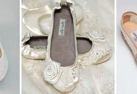 Свадебные туфли без каблука: 5 причин в пользу плоской подошвы