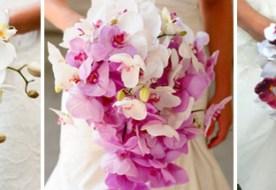 Свадебный букет из орхидей – оригинальное решение для изысканной свадьбы