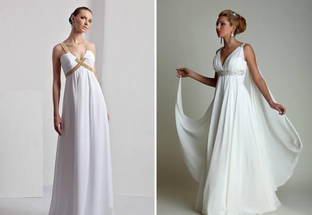 юбки на платьях невесты ампир