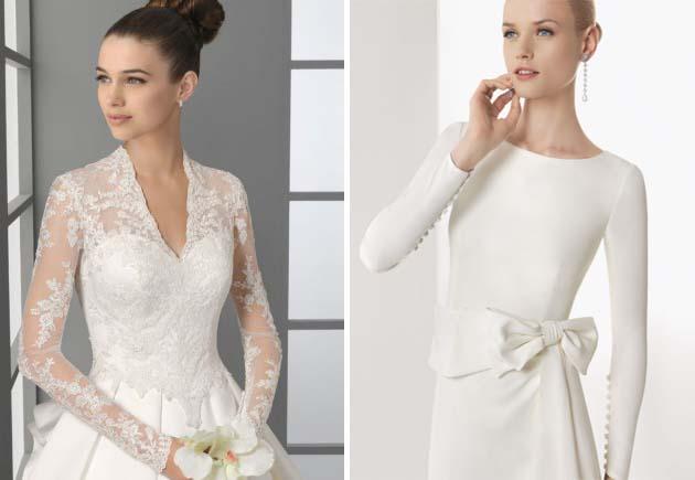 рукава на свадебных платьях