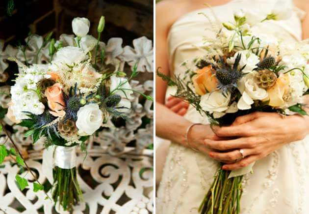 свадебный букет в стиле вестерн