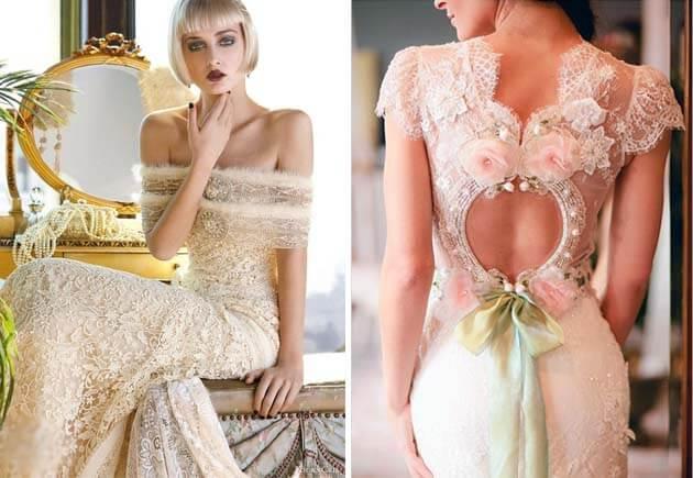 кружевные платья невест