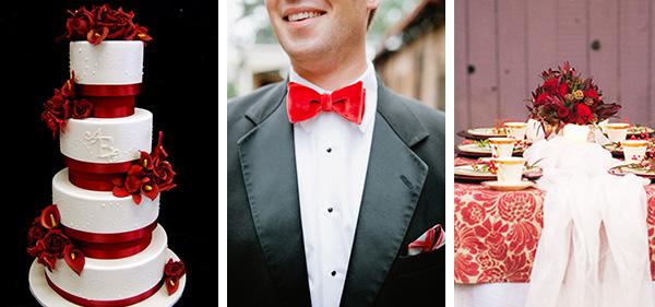 Свадьба в красном стиле декор