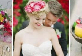 Яркая тропическая свадьба – сногсшибательные оттенки лета