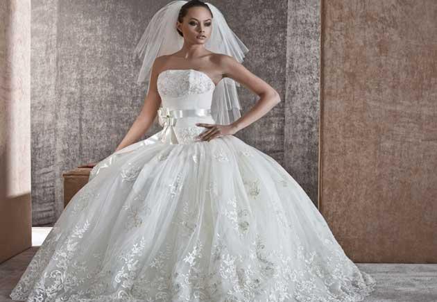 свадебное платье напрокат белое