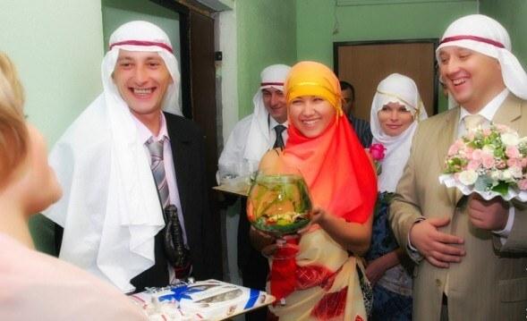невесту выкупают шейхи