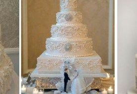 Белый свадебный торт: нежность и утонченная романтика