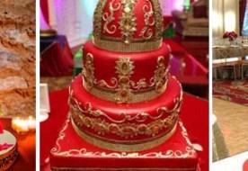 Красный свадебный торт: экстравагантное и страстное лакомство