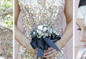 Свадьба в стиле Гетсби: ретро образ невесты в стиле 20-х. Часть 2