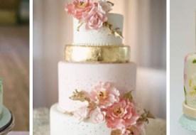 Свадебные торты с цветами: изысканные кондитерские шедевры