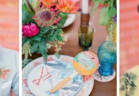 Летняя свадьба в стиле Кармен: яркий и необычный микс красок
