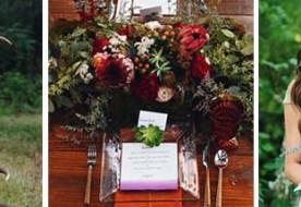Свадьба в стиле бохо: романтика Богемского леса