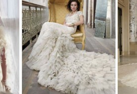 Свадебные платья со шлейфом: изысканный наряд для настоящих Королев