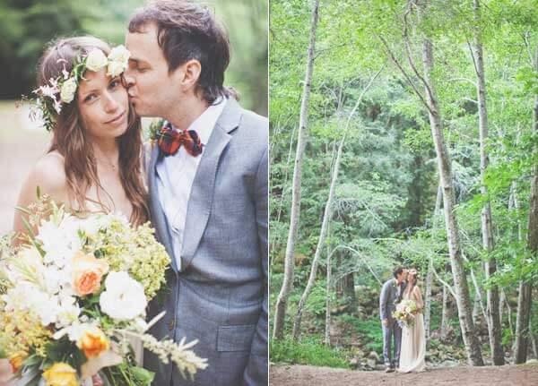 Стильная свадьба на природе в стиле бохо