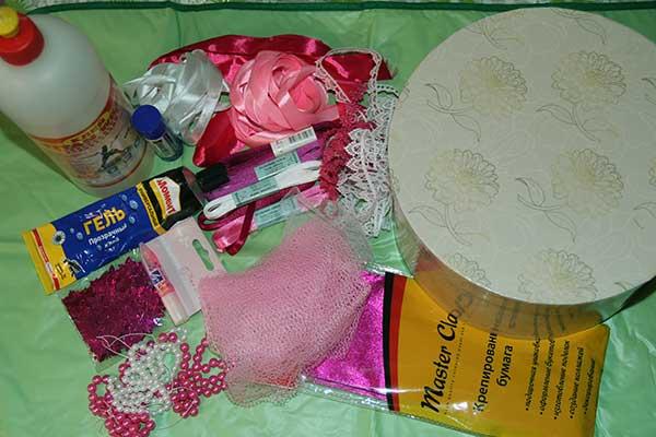 Материалы для свадебного сундука своими руками