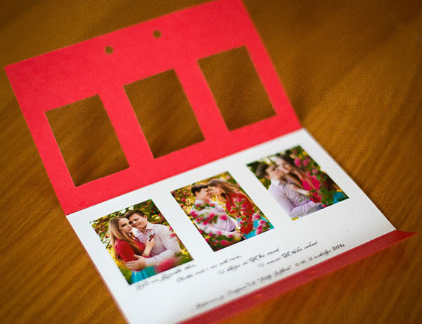 Оригинальное приглашение на свадьбу своими руками с фото