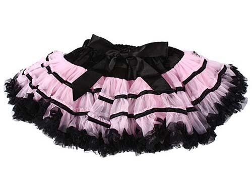 розово -черная юбка pettiskirts