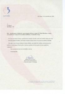 Carta Doação