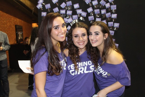 As moças do TechnoGirls, que querem fazer um GPS acessível!
