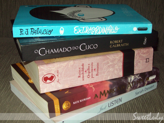 Top 5: Livros de 2014