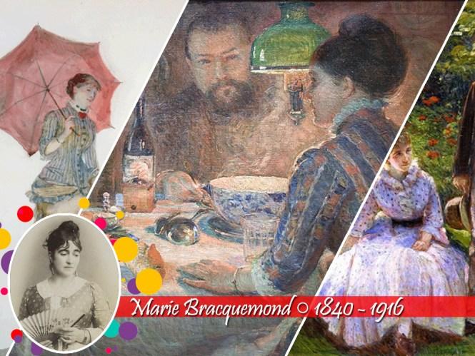 10 Mulheres do Impressionismo: Marie Bracquemond