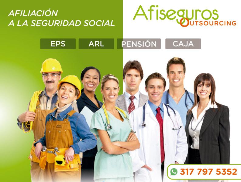 afiliacion a seguridad social barranquilla
