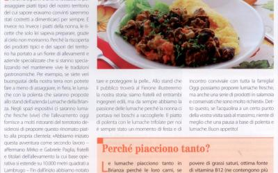 "Lumache e polenta da assaporare al ""Feron de Ugionn"" 2017"