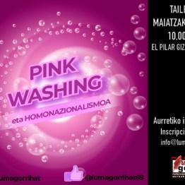 2018ko maiatzak 19 - 10:00 - tailerra: Pinkwashing eta Homonazionalismoa
