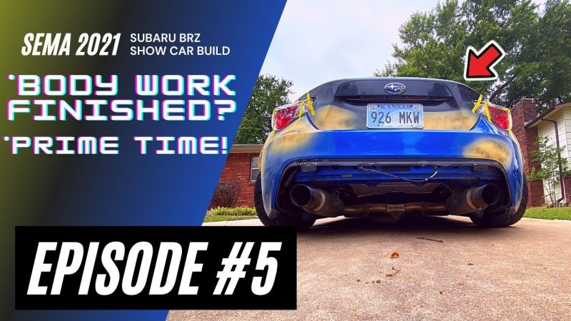 SEMA 2021 BRZ build episode 5