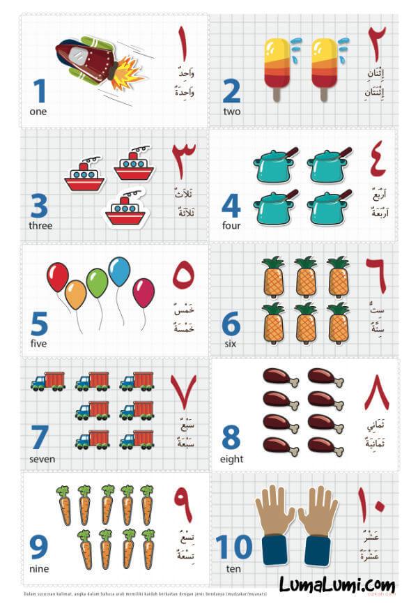 belajar mengenal angka untuk anak anak