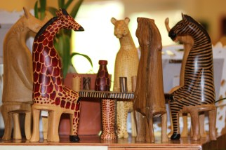 Miniture Wooden Aminals