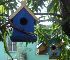 Yard Bird House (2)