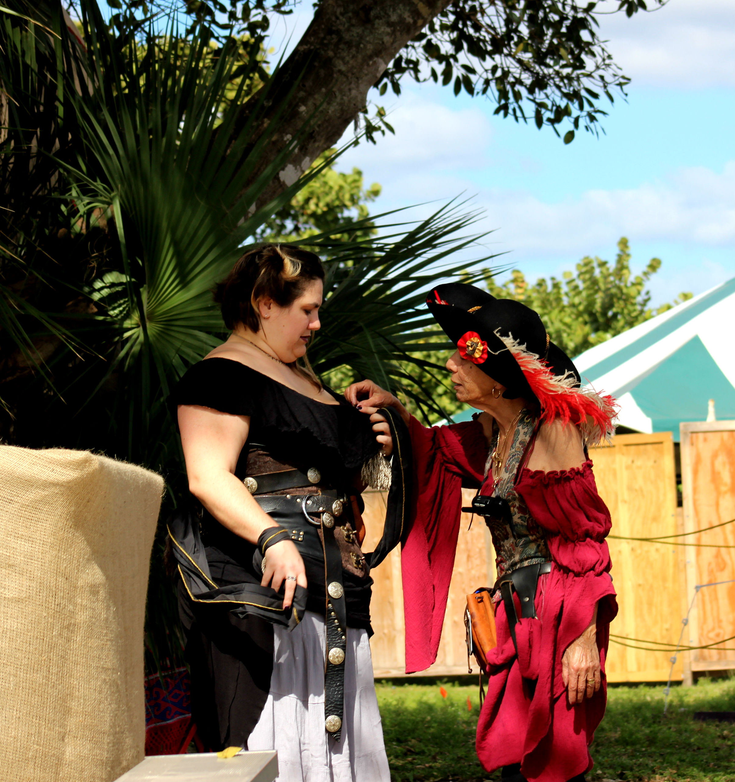 A Cool Walk Through Renaissance Festival