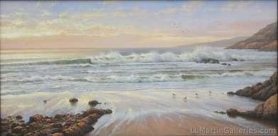 """Big Sur"" 24x48 inch oil on canvas"