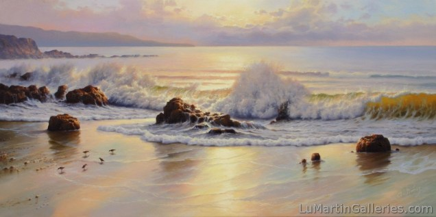 """""""Morning Light"""" 18x36 in. oil/canvas"""