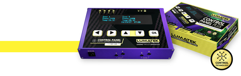 Controllable Banner Control Panel Plus