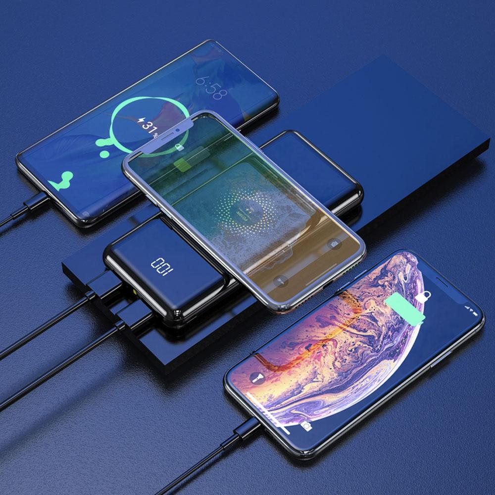 baterie externa lumaudio go cu incarcare wireless fast charge