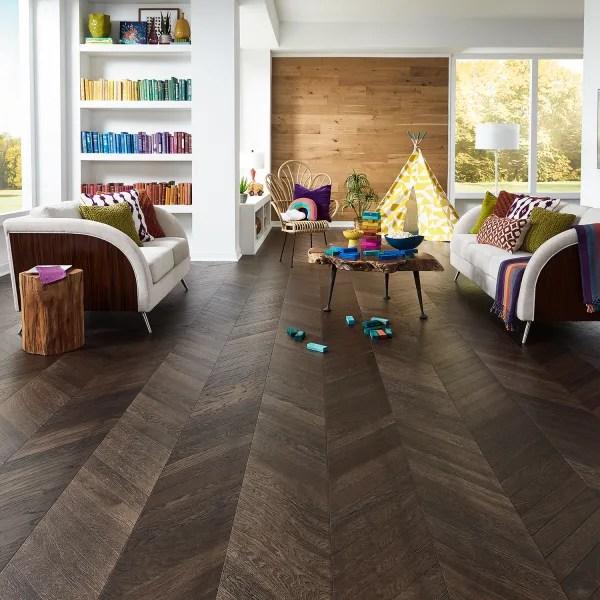 5 8 in x 11 5 in manhattan chevron engineered hardwood flooring